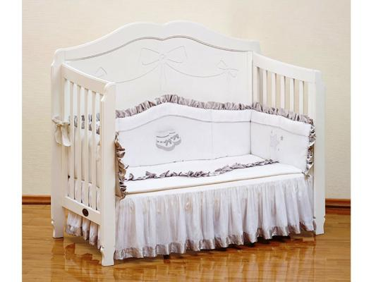 Постельный сет Giovanni Silver (белый) постельный сет 7 предметов 120х60см giovanni shapito bonny bunny