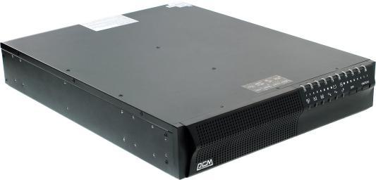 ИБП Powercom King Pro+ SPR-3000 2100VA Черный ибп powercom spr 3000
