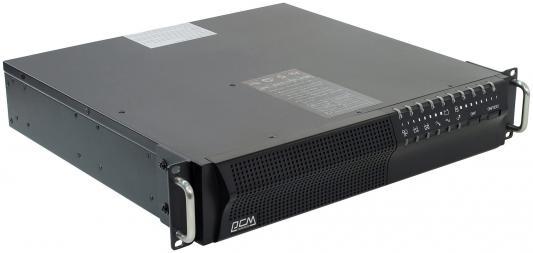 ИБП Powercom Smart King Pro+ SPR-1500 1050Вт 1500ВА черный powercom powercom spr 1500