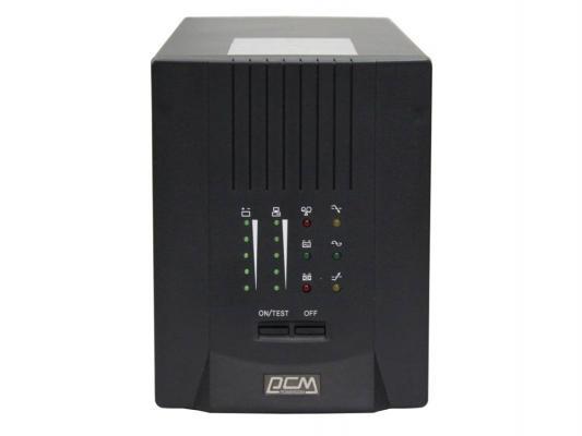 Источник бесперебойного питания Powercom Smart King Pro+ SPT-1000 700VA Черный источник бесперебойного питания powercom smart king rt srt 1000a 1000вa [srt 100a 8cc 0010r]