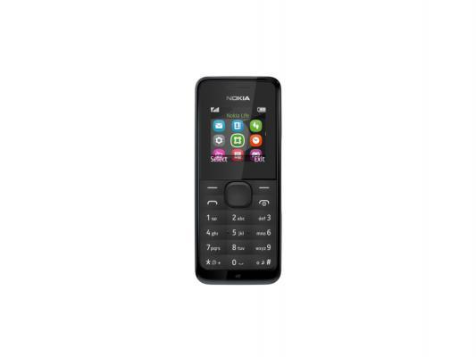 Мобильный телефон NOKIA 105 черный 1.4