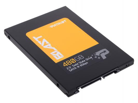 """Твердотельный накопитель 2.5"""" 480GB Patriot Blast Read 560Mb/s Write 540Mb/s SATAIII PBT480GS25SSDR"""