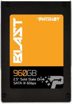 """Твердотельный накопитель 2.5"""" 960GB Patriot Blast Read 560Mb/s Write 540Mb/s SATAIII PBT960GS25SSDR"""