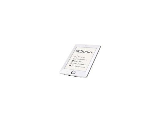 """Электронная книга Reader Book 1 6"""" E-ink HD Pearl 1024x758 256Mb 4Gb белый-черный RB1-WB-RU"""