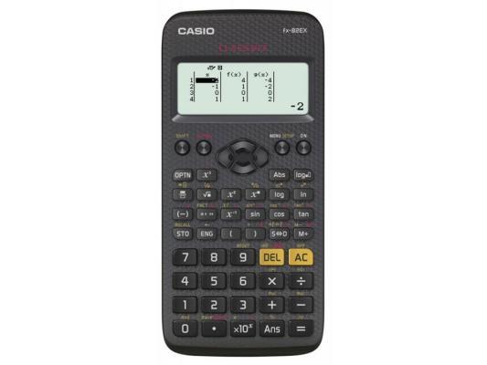 Калькулятор Casio Classwiz FX-82EX 12-разрядный черный калькулятор casio dh 12 коричневый черный