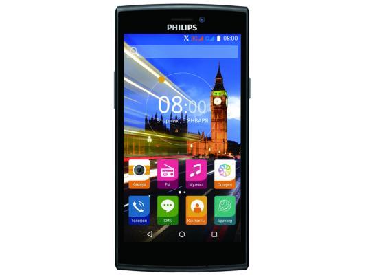 Смартфон Philips S337 черный красный 5 8 Гб Wi-Fi GPS 3G смартфон philips xenium s327 синий 5 5 8 гб lte wi fi gps 3g