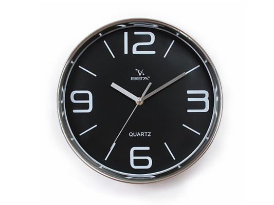 Часы настенные Вега Черная классика Н0257