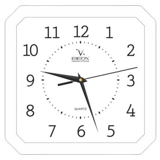 Часы настенные Вега П 4-7/7-19 часы настенные вега п 4 14 7 86 новогодние подарки