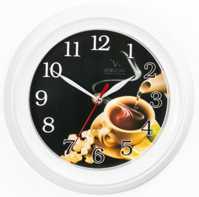 Часы настенные Вега П 6-7-24 часы настенные вега п 4 14 7 86 новогодние подарки