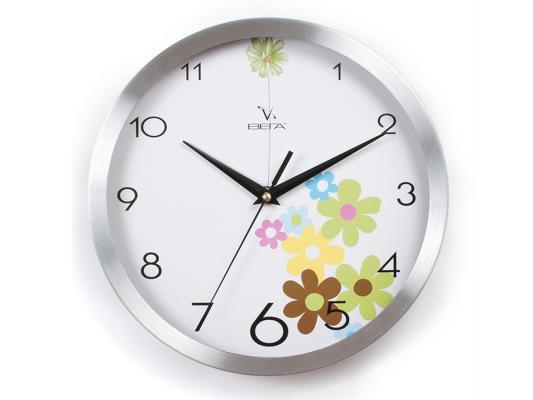 Часы настенные Вега Цветочная поляна Y9104