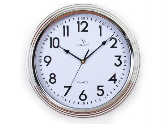 Часы настенные Вега Классика металлик Н0144