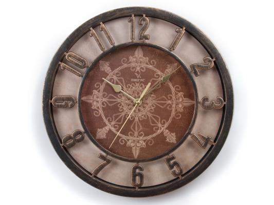 Часы настенные Вега Ажур бронза Н0199