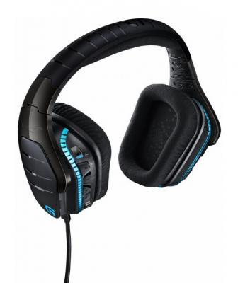 лучшая цена Игровая гарнитура проводная Logitech Headset G633 черный 981-000605