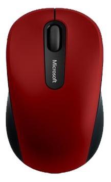 лучшая цена Мышь беспроводная Microsoft Mouse 3600 красный Bluetooth PN7-00014