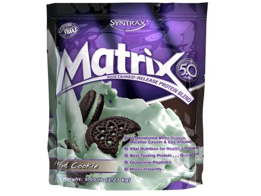 Протеины Syntrax Matrix 5.0 Mint Cookie 5LB