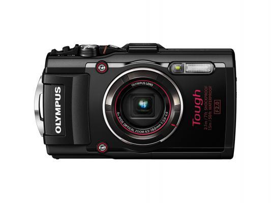 Цифровой фотоаппарат Olympus TG-4 16Mp 4x Zoom черный