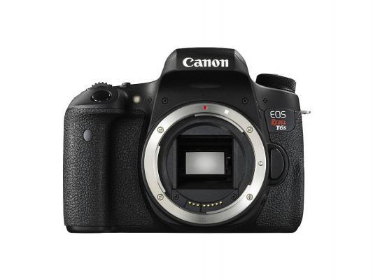 Зеркальная фотокамера Canon EOS 760D Body 24.2Mp черный 0021C001