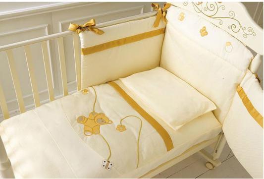 Постельный сет Baby Expert Bijoux (крем)