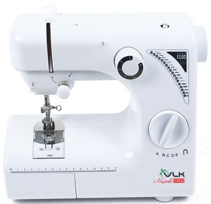 Швейная машина VLK Napoli 2400 белый электромеханическая швейная машина vlk napoli 2100
