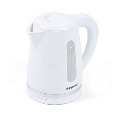 Чайник ENDEVER 226-KR 2400 Вт белый 1.7 л пластик