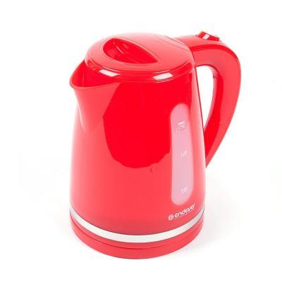 Купить Чайник Endever 228-Kr 2400 Вт Красный 1.7 Л Пластик