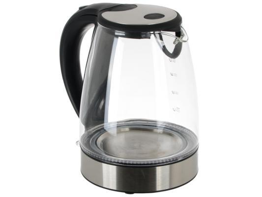 Чайник ENDEVER 318G-KR 2400 Вт серебристый прозрачный 1.8 л пластик/стекло