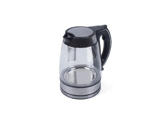 Чайник ENDEVER 321G-KR 2800 Вт чёрный прозрачный 1.7 л пластик/стекло чайник endever 321g kr 2800 вт 1 7 л пластик стекло чёрный прозрачный