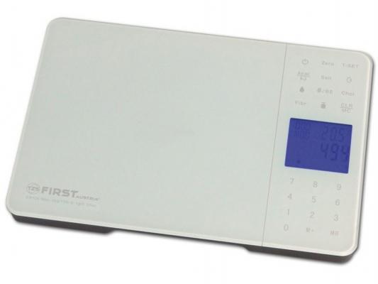 Весы кухонные First FA-6407-1 белый
