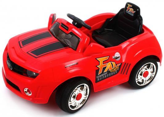 Машина р/у красный 25W, 6V/7Ah Пламенный мотор 86099