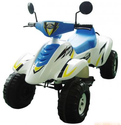 Квадроцикл бело-синий 103см., Бич Рейсер 12В Пламенный мотор CT-558 WB машина пламенный мотор volvo v70 пожарная охрана 870189