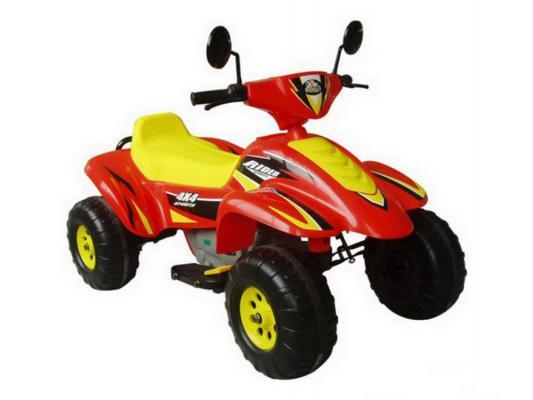 Квадроцикл красно-желтый 103см Бич Рейсер 12В Пламенный мотор CT-558 RY