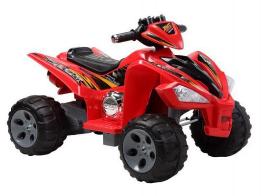 Квадроцикл красный 25W*2, 12V/7Ah Пламенный мотор 86084