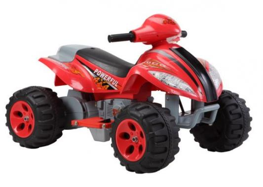 Квадроцикл красный 35W, 6V/7Ah Пламенный мотор 86077