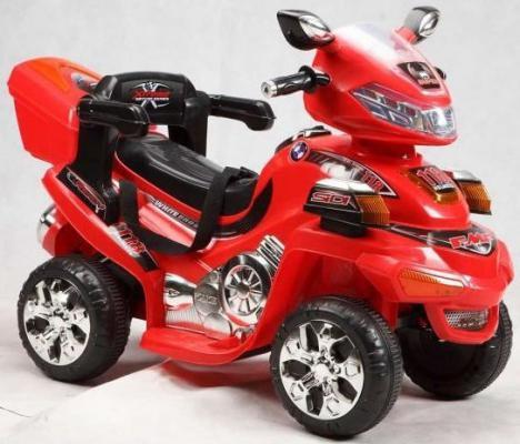 Квадроцикл р/у красный 6V/4.5AH,12W Пламенный мотор 86081