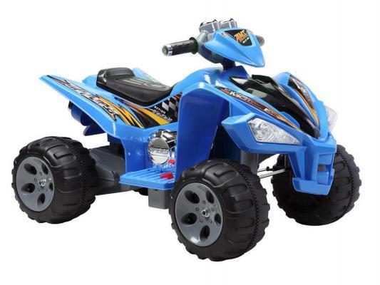 Квадроцикл синий 25W*2, 12V/7Ah Пламенный мотор 86082