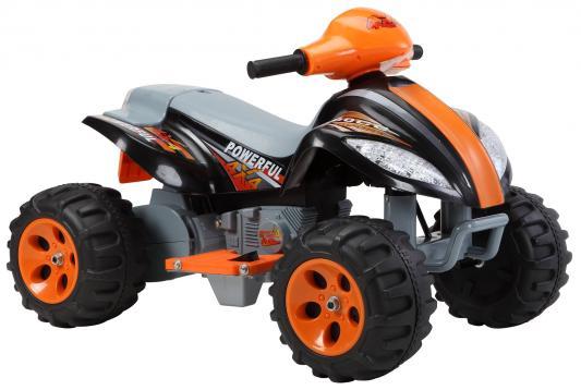 Квадроцикл черный 35W, 6V/7Ah Пламенный мотор 86078
