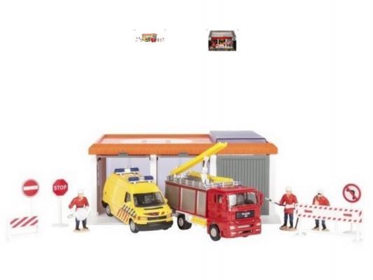 Гараж Пожарное депо Пламенный мотор 870027