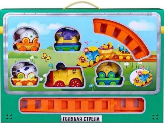 Железная дорога Голубая Стрела Веселое путешествие (87188) с 3-х лет цена