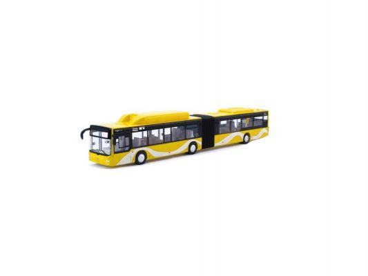 Автобус Пламенный мотор Городской инерционный MAN желтый 870168