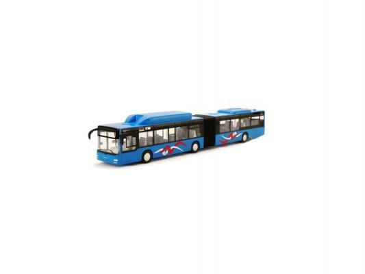 Автобус Пламенный мотор Городской инерционный MAN синий 1 шт 870169