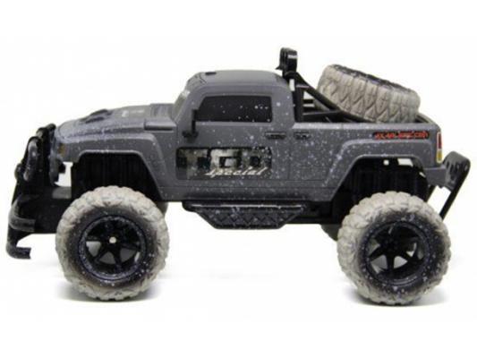 Внедорожник на радиоуправлении Пламенный Мотор Трофи-рейд 4*4 пластик от 4 лет серый 87587 игрушка пламенный мотор land rover трофи 870101