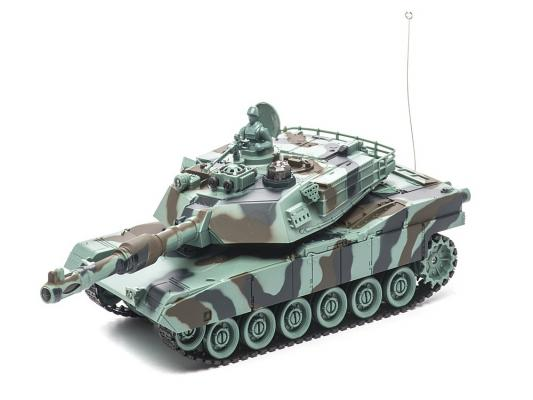 Танк на радиоуправлении Пламенный Мотор Abrams M1A2 (США) 1:28 пластик от 4 лет камуфляж 87556 машина пламенный мотор volvo v70 пожарная охрана 870189