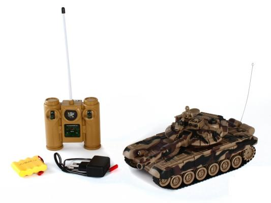 Танк на радиоуправлении Пламенный Мотор -90 (Россия) 1:28 пластик  4 лет коричневый 87555