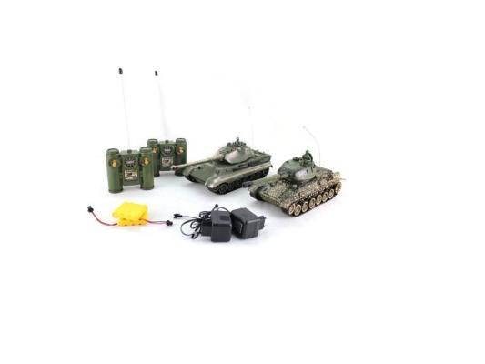 Танковый бой на радиоуправлении Пламенный мотор Т-34 (СССР) vs King Tiger (Германия) 1:28 пластик от 6 лет 870164