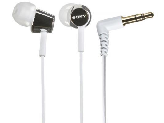 Гарнитура Sony MDR-EX150 белый