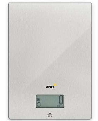 Весы кухонные Unit UBS-2152 серебристый
