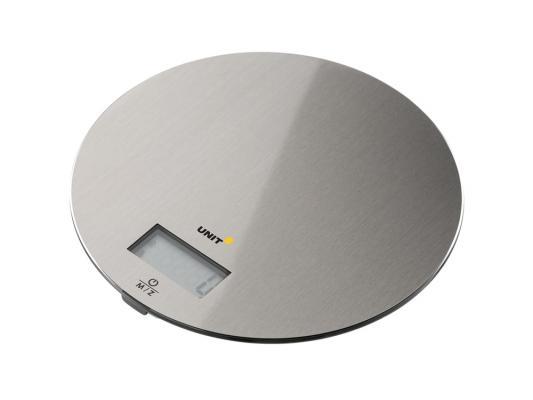 Весы кухонные Unit UBS-2150 серебристый