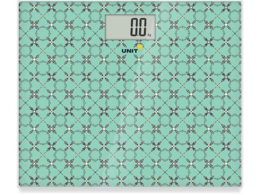 Весы напольные Unit UBS-2080 зелёный