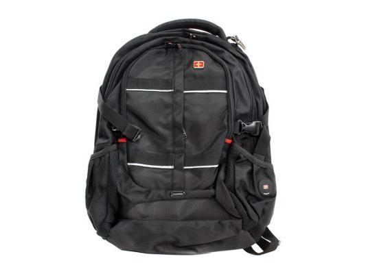 """Рюкзак 16"""" Continent BP-304 BK полиэстер черный цена"""