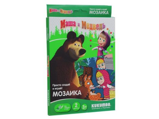 Мозайка мягкая Kukumba Маша и Медведь Машина каша (2 набора) 0072013